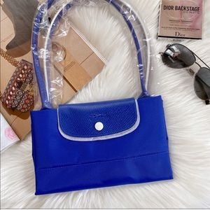Longchamp Le Pliage Club Tote - Cobalt